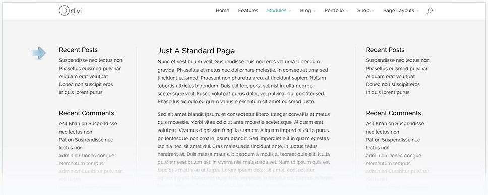 How to Use the Sidebar module